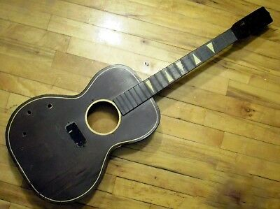 1960s Kay Acoustic Electric Guitar Body FOR DECORATION Wall-Hanger HUSK Vintage