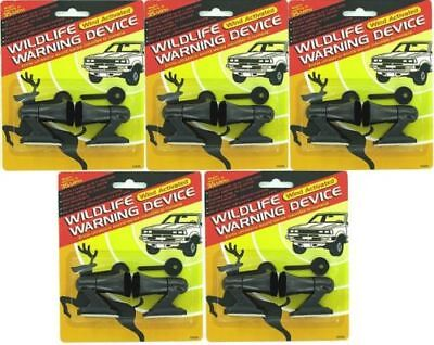 5 PACKS OF DEER WHISTLES / WILDLIFE WARNING DEVICES/Brand New Package FREE SHIP