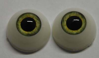 20mm Pistachio Green Round Acrylic Eyes Reborn Baby Doll Making Supplies