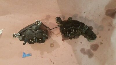 1985 Honda Vf750C Front Calipers Loaded Both Sides(##10)