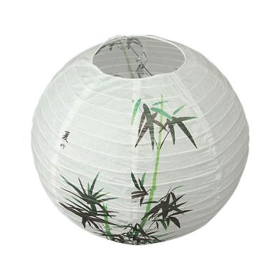 40cm Lamp Shade Paper Lantern Oriental Style Light Decoration Chinese Patte B6A0