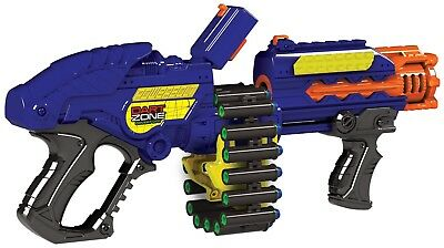 Zombie Blaster Gun Strike Rapid Fire Foam Soft Darts Nerf Kids Toy Fun Games NEW