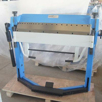 165156 Heavy Duty Manual Sheet Metal Bending Folding Machine 1020mm 2.5mm