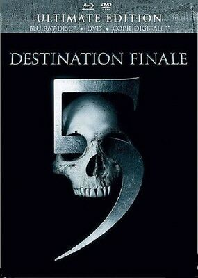 Combo Blu Ray + DVD + Copie  //  DESTINATION FINALE 5  //   NEUF sous cellophane