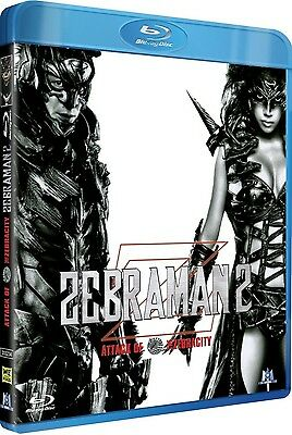 Blu Ray  //  ZEBRAMAN 2 : ATTACK ON ZEBRA CITY  //  NEUF cellophané