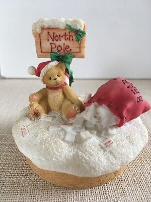 Cherished Teddies North Pole Candletopper - 778273