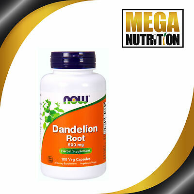 Now Foods, Dandelion Root, 500mg x100Vcaps