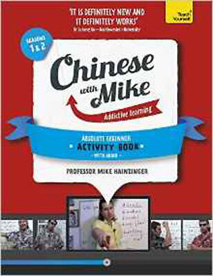 Learn Chinese with Mike Absolute Beginner Activity Book Seasons 1 & 2: Book and
