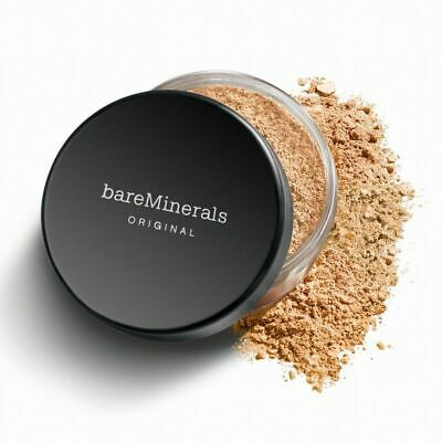Bare Minerals Original SPF15 Foundation Medium Beige Fairly Light Tan Mineral Ve