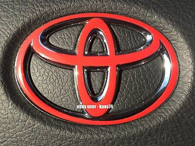 Toyota 4Runner Steering Wheel Emblem Decal 2010 11 12 13 14 2015 2016 2017 2018