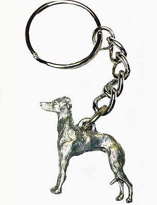 Italian Greyhound Personalized Breed Key Chain