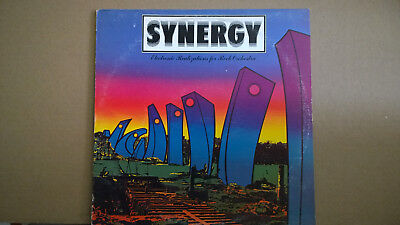 Synergy-Electronic Realizations for Rock Orchestra-Quad-LP-NonProfit Org