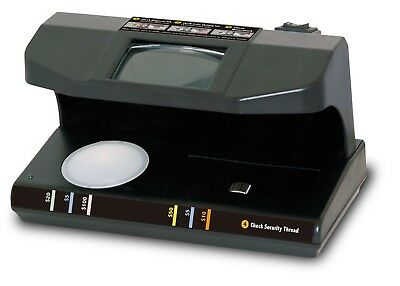 Royal Sovereign RCD-3PLUS UV, MG, FL, and Microprint 4-Way Counterfeit Detector