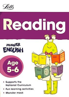 LETTS MONSTER English - Spelling & Phonics KS1 (ages 5-6
