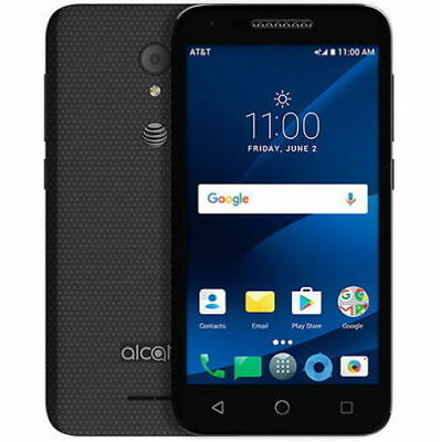 New Alcatel Ideal Xcite 5044R AT&T Unlocked GSM 4G LTE Android Smartphone