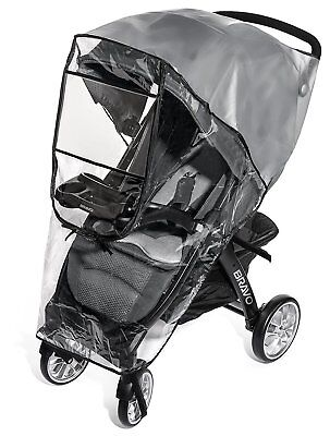 Premium Stroller Cover Weather Shield, Easy In/Out Zipper, Universal Size, Wind,