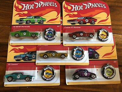 "Hot Wheels 50th Anniversary Originals ""Redlines"" COMPLETE SET"