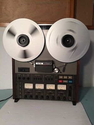 Teac A-3440 Tape Recorder Reel To Reel