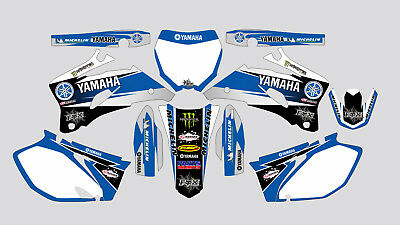 Parts Unlimited Yamaha Yzf 250-450 2006-2009 Decal Sticker Graphic Kit