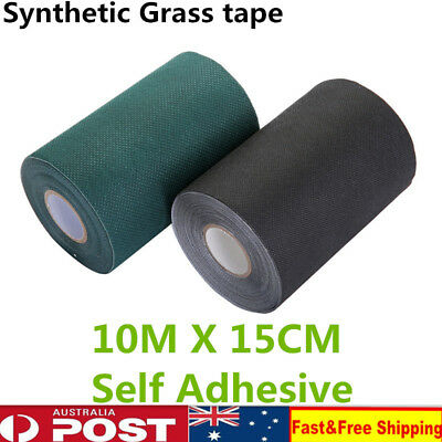 Self Adhesive Synthetic Turf Artificial Grass Joining Tape Glue Peel 10MX15CM KD