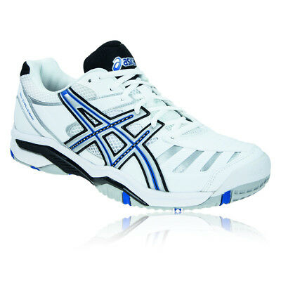 Asics Mens GEL-CHALLENGER 9 Tennis Shoes White Sports Trainers
