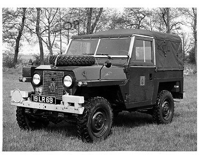 1969 Land Rover 88 1/2 Ton Factory Photo cb0879