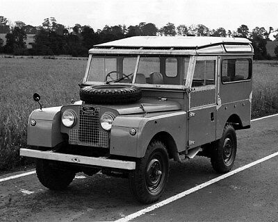 1956 Land Rover Series I 88 Station Wagon Factory Photocb0847