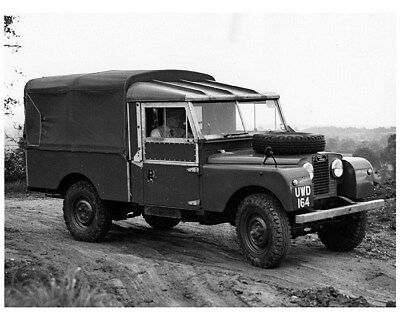 1957 Land Rover Series I 109 Basic Factory Photo cb0846