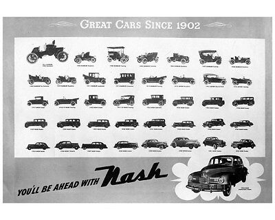 1902 thru 1946 Nash & Rambler Factory Photo cb0837