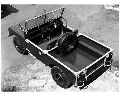 1954 Land Rover Series I 86 Basic Factory Photo cb0810