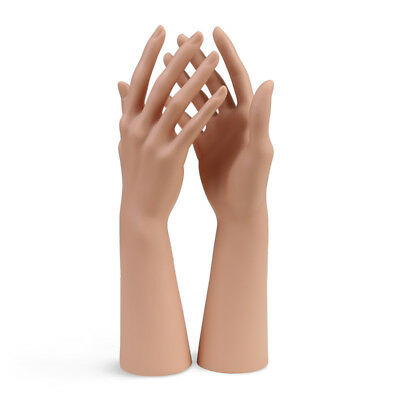 Lifesize Realistic Silicone Women Fake Right Hand Model Jewelry Display Props