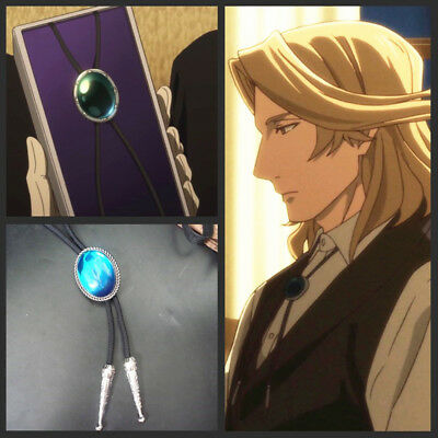 The Ancient Magus' Bride Ainsworth Elias Cosplay Cross Necklace Pendant Bolo Tie
