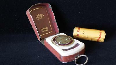 West German Zeiss IKOPHOT Light Meter - nice...& Accurate! ... ORIGINAL case!!