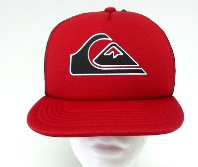 95f9a2c3a1244 NEW QUIKSILVER SNAPPER Boy Youth Trucker Hat - Red - Free Shipping ...