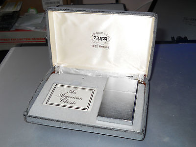 "Rare Zippo Replica 1932""coins Carres""collector Super Cote"