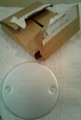 Vintage milnot Aluminum milk Can Opener Prongs Round USA Cap, N.O.S. in box