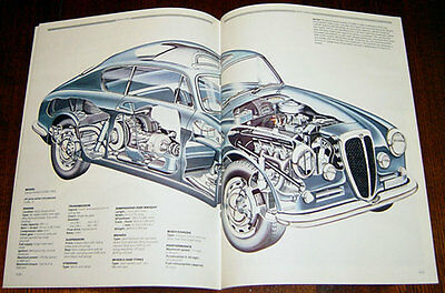 Lancia Aurelia - technical cutaway drawing