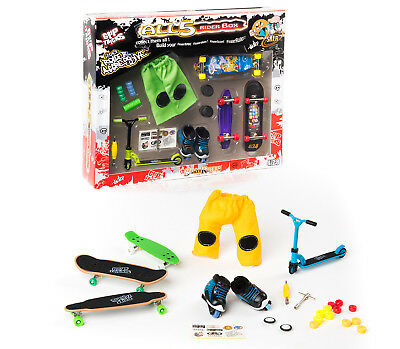 Grip&Tricks- Set of Finger Toys - Scooter - Skates - BMX - great gift