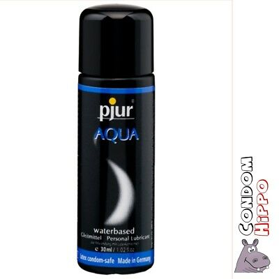 Pjur Aqua Water Based Personal Sex Lube 30ml 100ml 250ml 500ml Private