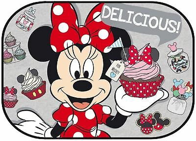 1 X Large Disney Minnie Mouse Car Sun Shade, Baby Window Blind, Genuine Licensed
