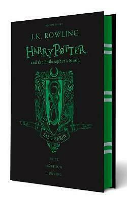 Harry Potter and the Philosopher's Stone - Slytherin Edition by J.K. Rowling Har