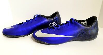 951ea00129a0 Nike Mercurial Victory V CR7 IC Indoor Soccer Shoes 684875-404 Mens SZ 10.5