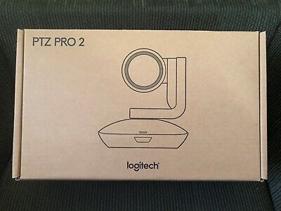 NEW Logitech 960-001184 PTZ Pro 2 Video Conferencing Camera *FAST SHIPPING*