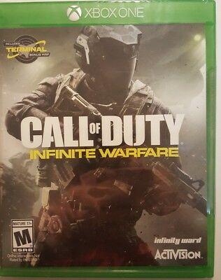 Call of Duty: Infinite Warfare (Xbox One) BRAND NEW Sealed + Terminal
