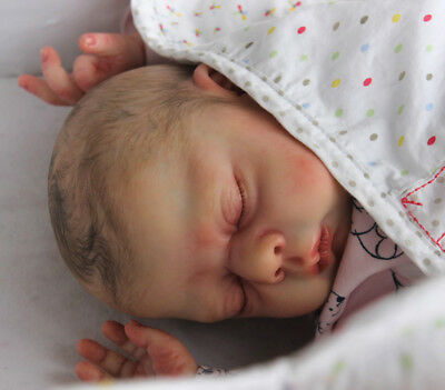 """Jacelyn, by Donna RuBert 20"""" Baby Unpainted  Create you Own"""