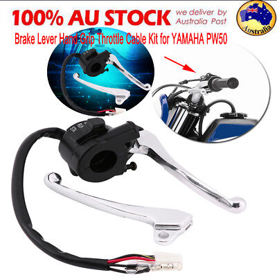 Brake Lever Grip Throttle Cable Peewee Pw 50 Switch For Yamaha Pw50 Py50