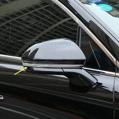 New Chrome Rearview Mirror Trim For Lincoln MKX 2016 2017 2018