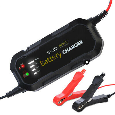 12V Car Battery Charger Maintainer Trickle Automatic Motorcycle Volt US