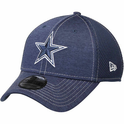 timeless design 0c984 0f200 Dallas Cowboys New Era 39THIRTY NFL Classic Shade Neo Mesh Flex Fit Hat Cap  Navy