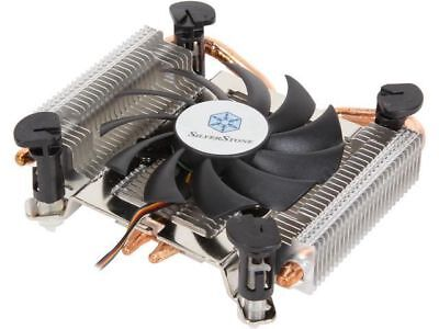 Silverstone SST-AR04 Ultra Low Profile CPU Cooler Heatsink+Fan Socket Thin mITX